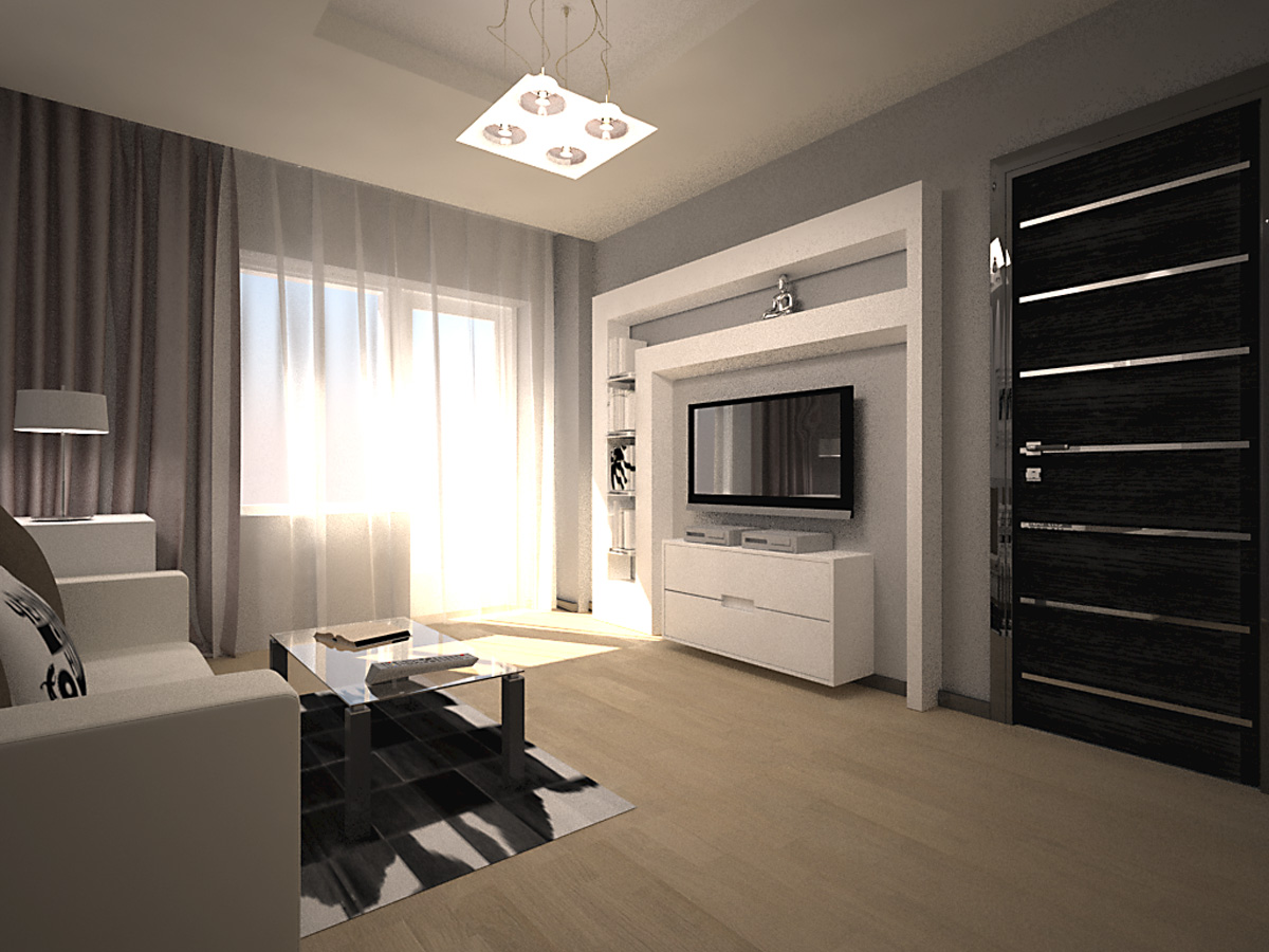 дизайн однокомнатной квартиры фото готовых работ обязательное условие для